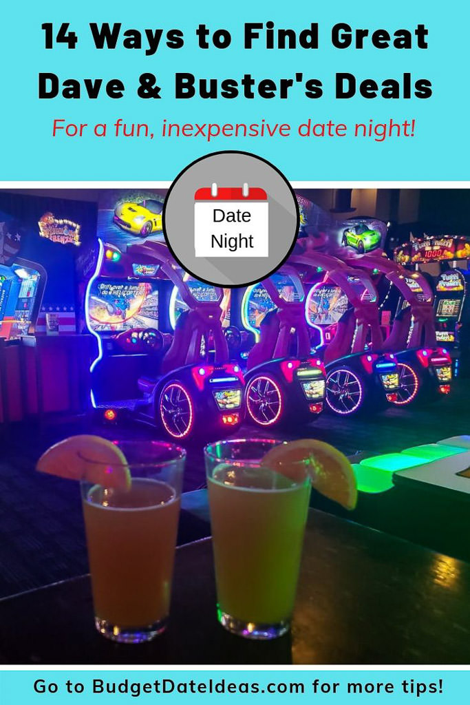 Planning a fun-filled date night doesn\'t have to cost a fortune! Use these tips for finding Dave and Buster\'s deals to enjoy this unique arcade on a budget. From weekday discounts to buy-one-get-one coupons, and other tricks!