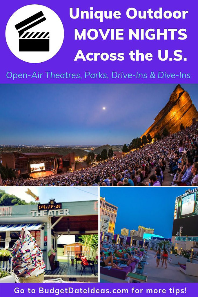 Unique Outdoor Movie Nights Across the U.S.