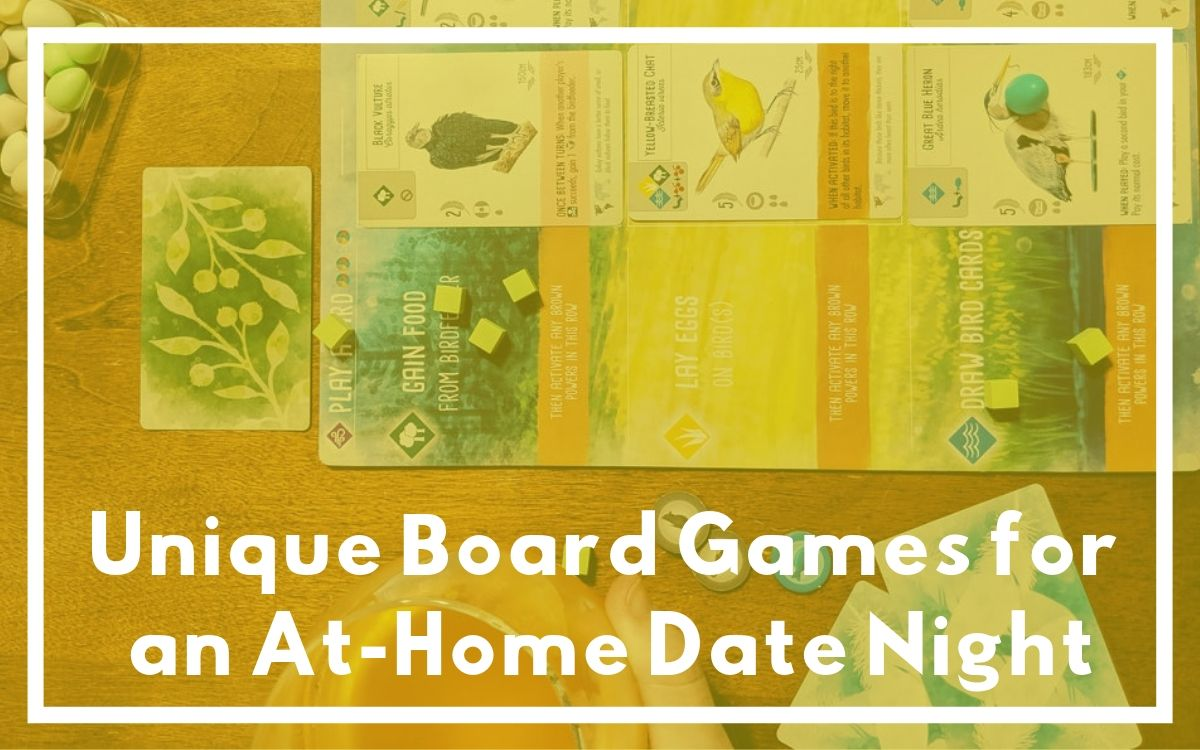 datenightdice - Unique Board Games for an At-Home Date Night